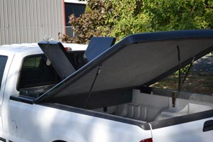 Truck Bed Cover With Tool Box >> Tonneau Covers with Integrated Tool Boxes for Trucks - Truck Lidz™